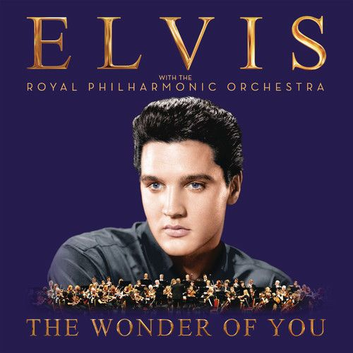 Elvis Presley & The Royal Philharmonic Orchestra :  The Wonder of You (CD 2016) USED