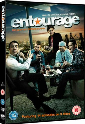 Entourage - Series 2 - Complete (DVD, 2007) USED
