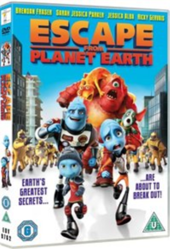 Escape from Planet Earth DVD 2014 (NEW N SEALED)
