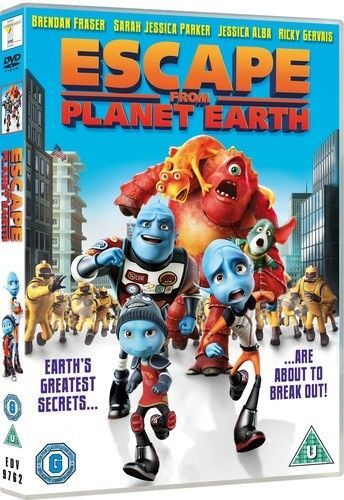 Escape from Planet Earth DVD (2014)  NEW N SEALED