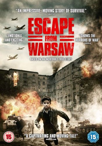 Escape from Warsaw DVD (2016) NEW N SEALED
