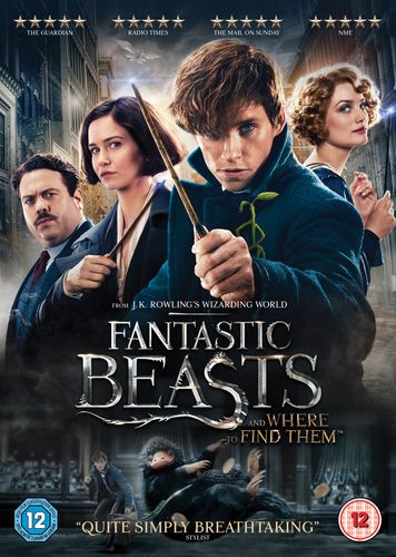 Fantastic Beasts And Where To Find Them DVD 2017 (USED)