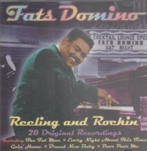 FATS DOMINO - REELING AND ROCKIN' - 28 ORIGINAL RECORDINGS ( CD 2002) USED