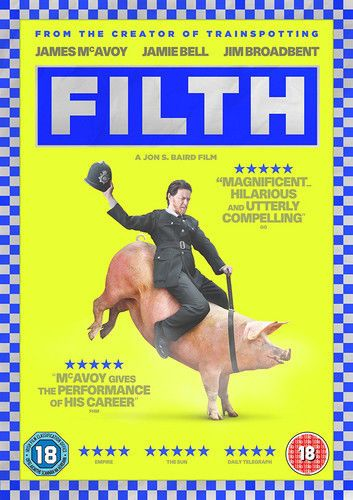 FILTH ( DVD 2014) USED