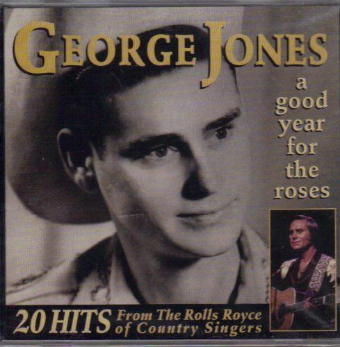 GEORGE JONES - A GOOD YEAR FOR THE ROSES - 20 HITS ( CD 1996) USED