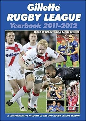 Gillette Rugby League Yearbook 2011-12,PAPERBACK (USED)