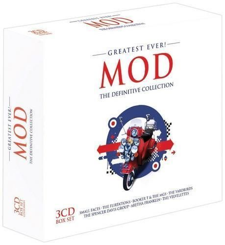 GREATEST EVER! MOD DEFINITIVE COLLECTION 3X CD  2014 (NEW N SEALED)