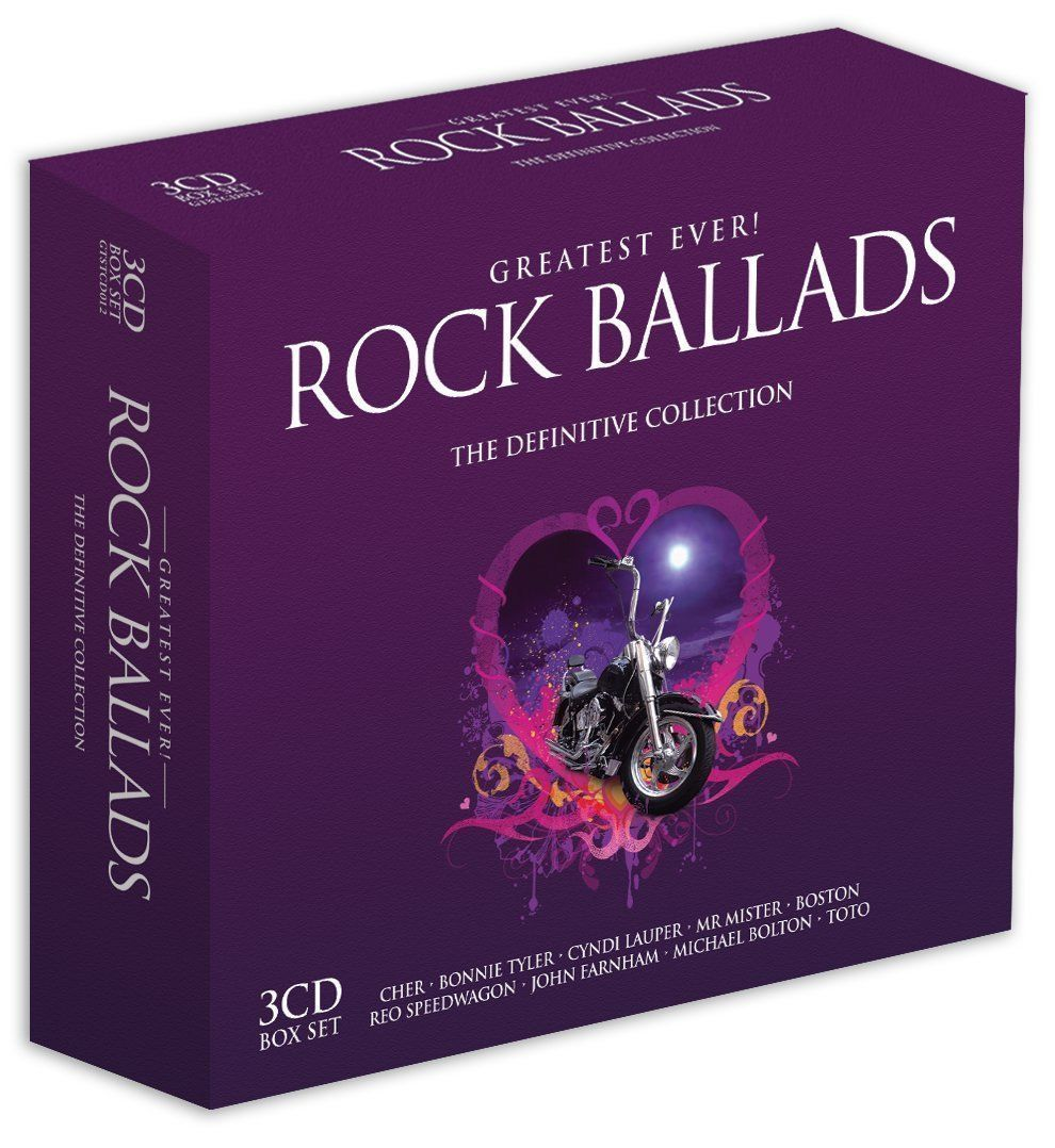 GREATEST EVER! ROCK BALLADS THE DEFINITIVE COLLECTION 3 CD BOXSET (2006) NEW N SEALED