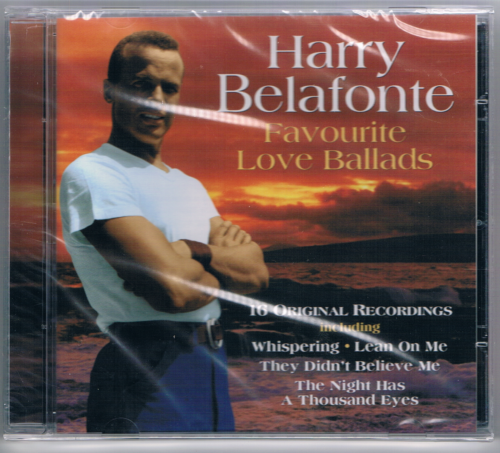 HARRY BELAFONTE - FAVOURITE LOVE BALLADS (CD 2003) USED