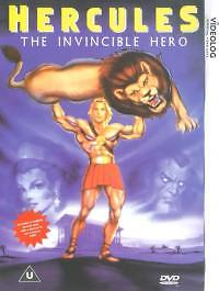 Hercules - The Invincible Hero (DVD, 1999) NEW N SEALED