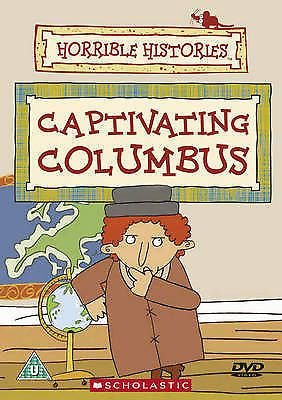 Horrible Histories Captivating Columbus DVD 2004 (NEW N SEALED