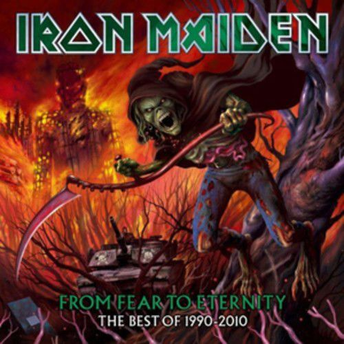 Iron Maiden : From Fear to Eternity: The Best of 1990-2010 CD (2011)  USED