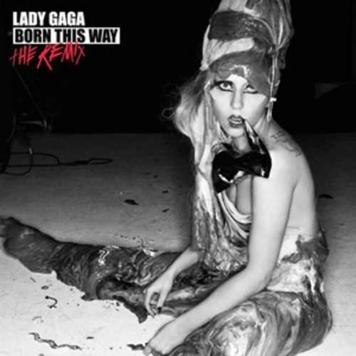 Lady Gaga : Born This Way: The Remix CD (2011) USED