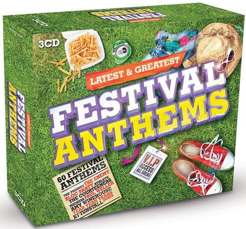LATEST & GREATEST - FESTIVAL ANTHEMS (3 CD BOXSET (2014) NEW N SEALED