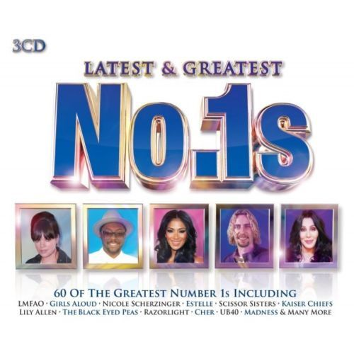 LATEST & GREATEST NO 1S (3 CD SET  2013 ) NEW N SEALED