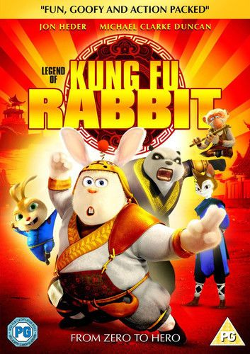 Legend of Kung Fu Rabbit  DVD (2014) NEW N SEALED