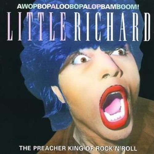 LITTLE RICHARD - THE PREACHER KING OF ROCK N ROLL (CD 1997) USED