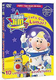 Lunar Jim - Let's Get Lunar (DVD, 2006) NEW N SEALED