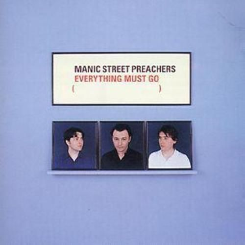 Manic Street Preachers : Everything Must Go  (CD 1996) USED