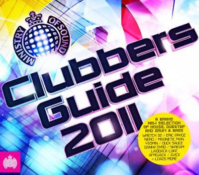 Ministery Of Sound -  Clubbers Guide: 2011  ( CD 2011)  USED