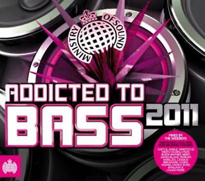MINISTRY OF SOUND - ADDICTED TO BASS 2011 (CD BOXSET 2011) USED