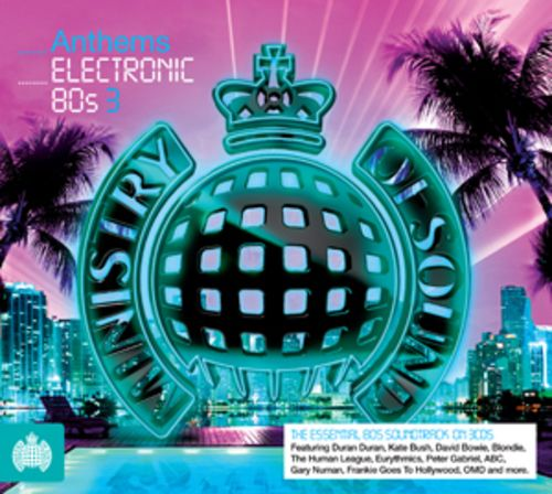 MINISTRY OF SOUND - ANTHEMS - ELECTRONIC 80s (BOXSET 2012) USED
