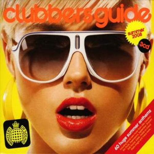 MINISTRY OF SOUND - CLUBBERS GUIDE - SUMMER 2008 (3 DISC BOXSET 2008) USED