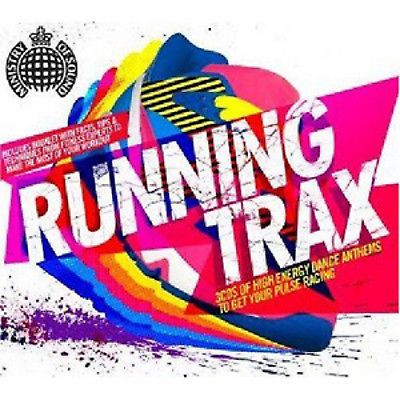 MINISTRY OF SOUND - RUNNING TRAX (3 CD SET  2010) USED