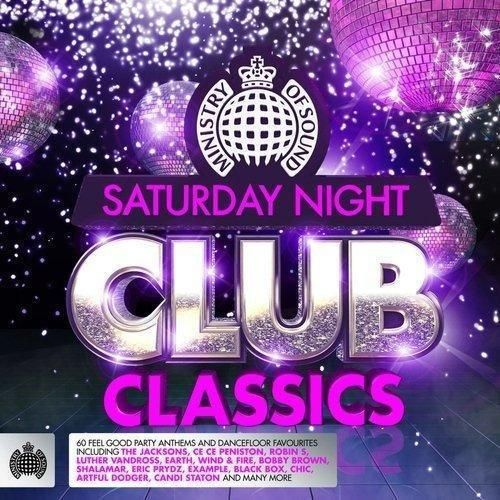 MINISTRY OF SOUND - SATURDAY NIGHT CLUB CLASSICS - 3 DISC BOX SET 2013 (NEW N SEALED