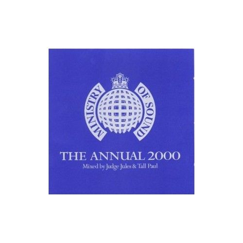 MINISTRY OF SOUND - THE ANNUAL 2000 - MIXED BY JUDGE JULES & TALL PAUL (2 DISC SET 2000) USED