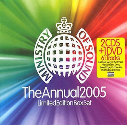 MINISTRY OF SOUND - THE ANNUAL 2005 LIMITED EDITION (CD BOXSET 2004) USED