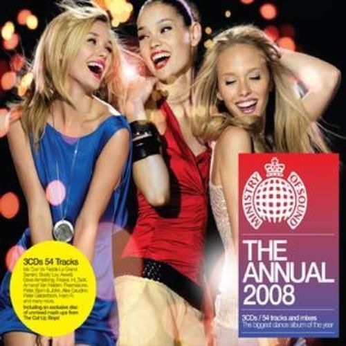 MINISTRY OF SOUND - THE ANNUAL 2008 ( CD BOXSET 2007) USED