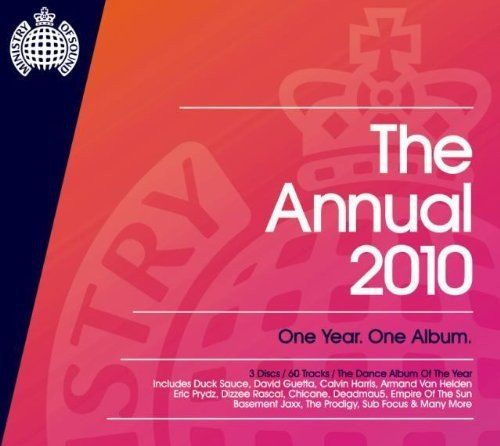 MINISTRY OF SOUND - THE ANNUAL 2010 (CD BOXSET 2009) USED