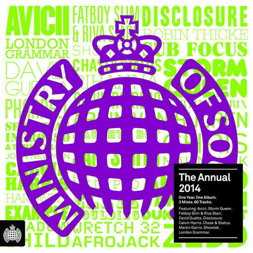 MINISTRY OF SOUND - THE ANNUAL 2014(BOXSET 2013) USED
