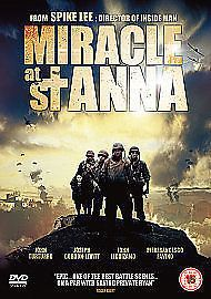 Miracle At St. Anna (DVD, 2011). USED