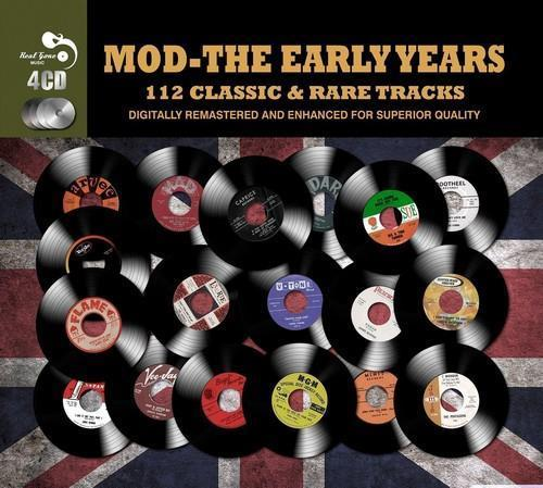 MOD THE EARLY YEARS 112 Classic &Rare  Tracks (4 CD BOXSET 2014) NEW & SEALED