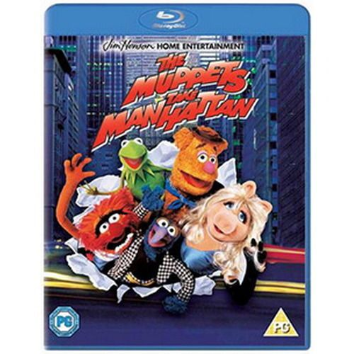 Muppets Take Manhattan - (BLU-RAY 2014) NEW N SEALED