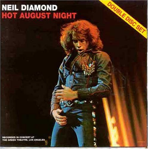 NEIL DIAMOND - HOT AUGUST NIGHT (DOUBLE DISC SET 1972) USED