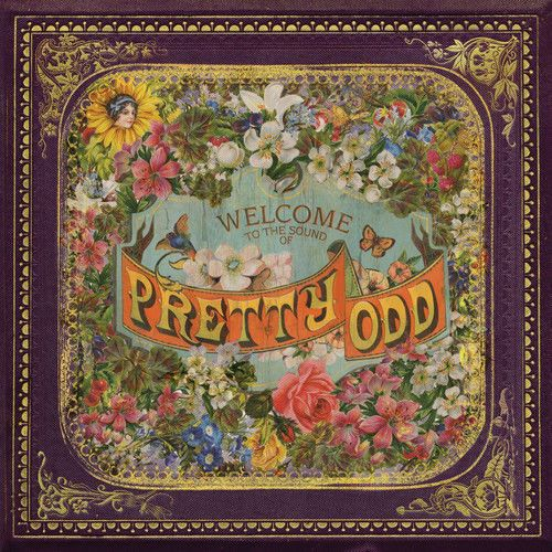 PANIC AT THE DISCO -  PRETTY ODD ( CD 2008) USED
