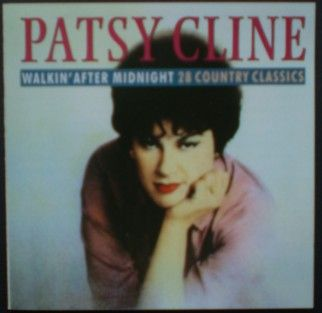 PATSY CLINE - WALKING AFTER MIDNIGHT - 28 COUNTRY CLASSICS (CD 1998) USED