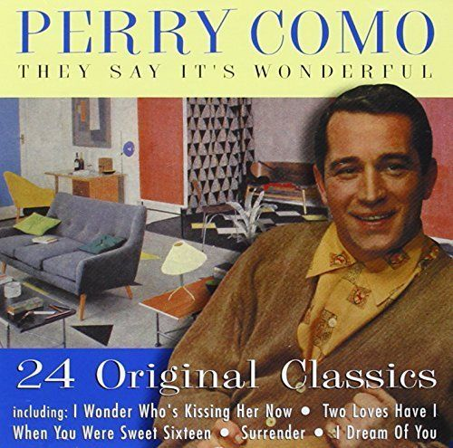 PERRY COMO - THEY SAY ITS WONDERFUL - 24 ORIGINAL CLASSICS (CD 200) USED