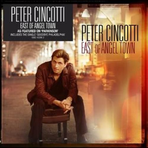 Peter Cincotti : East of Angel Town CD (2007) USED