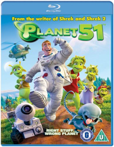Planet 51 Blu-ray (2010) Jorge Blanco (NEW N SEALED )