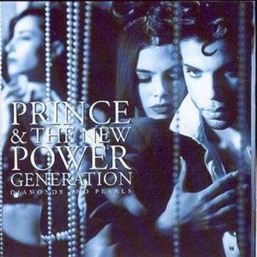 PRINCE & THE NEW POWER GENERATION - DIAMOND  AND PEARLS( CD 1991) USED