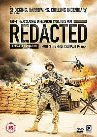 Redacted (DVD, 2008) USED