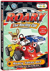 Roary The Racing Car - Roary Takes Off (DVD, 2008) USED