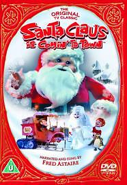 Santa Claus Is Coming To Town (DVD, 2005)  USED
