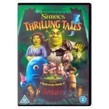 Shrek's Thrilling Tales ( DVD 2012) USED