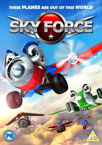 Sky Force DVD (2013) Tony Tang (NEW N SEALED)