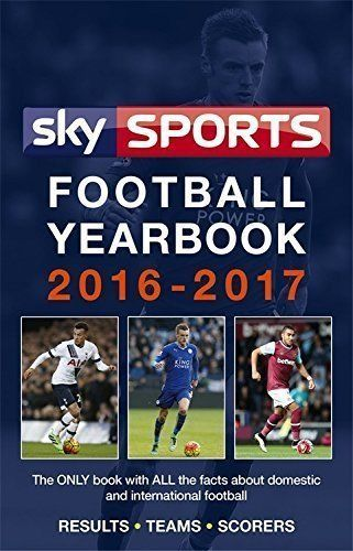 Sky Sports Football Yearbook 2016-2017 - Rothmans - Statistical Hardback Edition (USED)